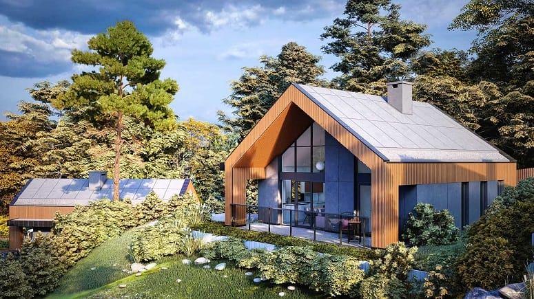 nowoczesny dom sadyba wynki